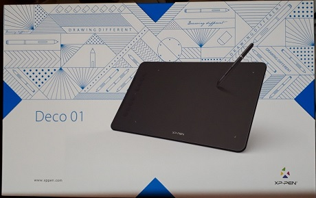 XP-PEN DECO01外箱